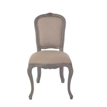 Sarah Dining Chair Gray rustic