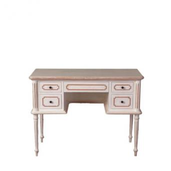 Desk  Carole Antique white and Rustic